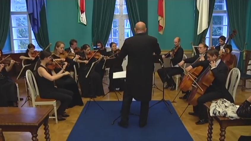 Sátoraljaújhelyen is fellépett a brémai Klassische Philharmonie NordWest kamarazenekar