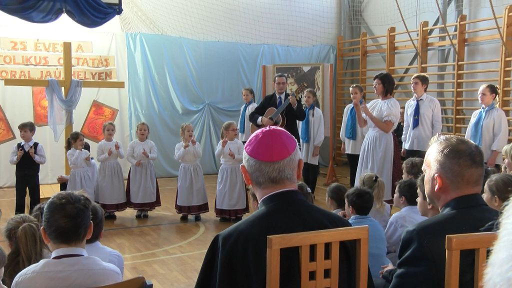 25 éves a katolikus oktatás Sátoraljaújhelyen