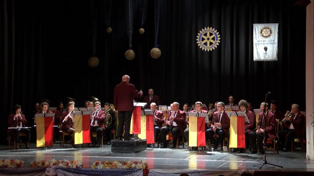 Újévi koncerttel jubilált a Dohánygyári Fúvószenekar