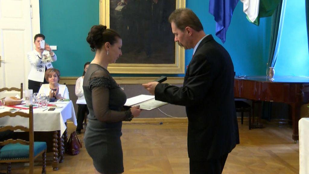 A Zemplén TV két munkatársa kapott elismerést a sajtónapon