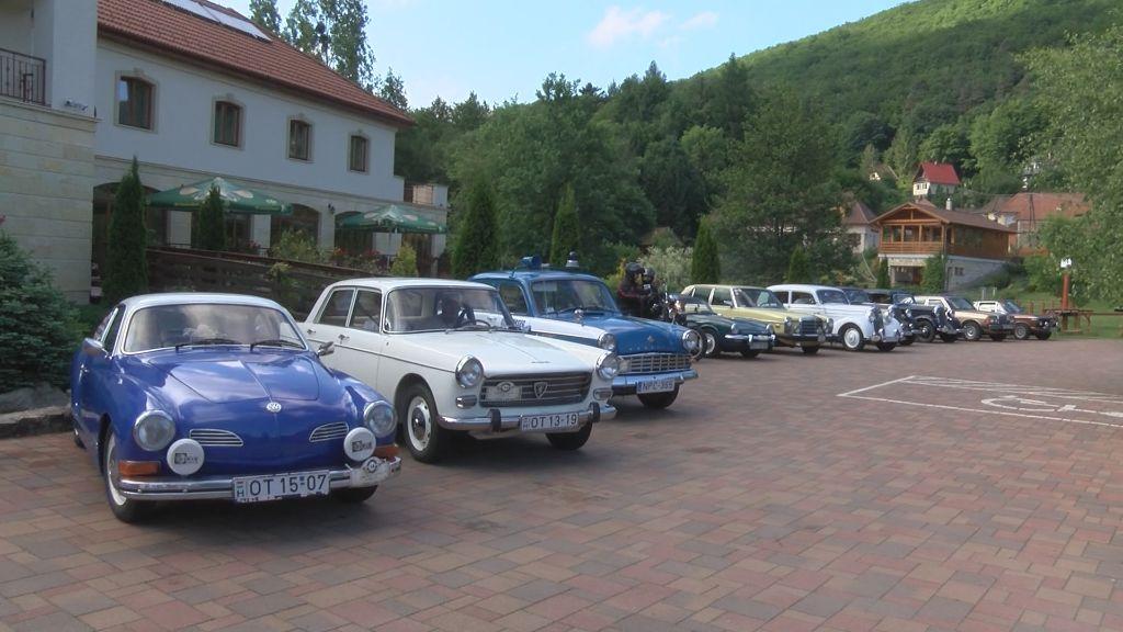 Veterán autók Zemplénben