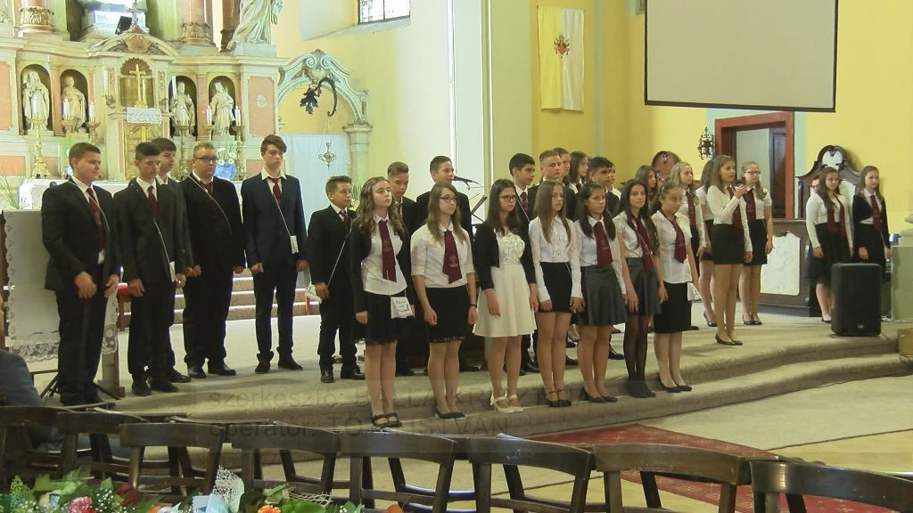 Ballagás az Árpád-házi Szent Margit Általános Iskolában