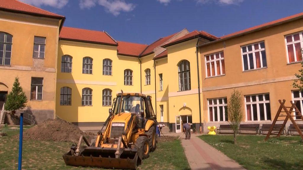 Megújul a Petőfi Sándor Református Általános Iskola