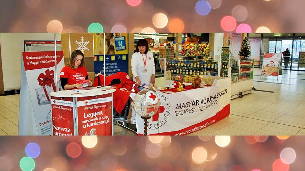 Tartós élelmiszert gyűjt a Vöröskereszt december 7-én és 8-án a Tesco hipermarketekben