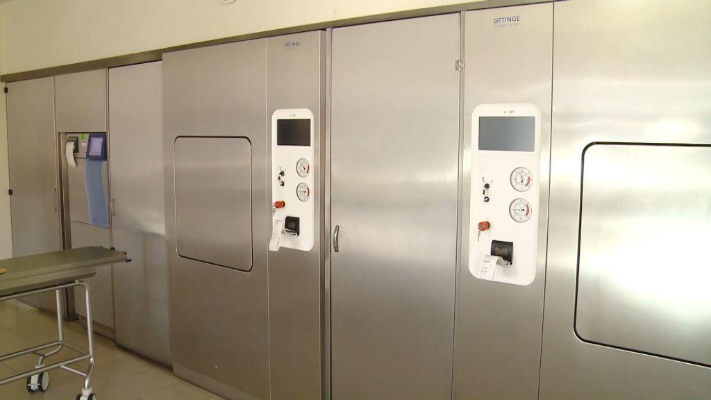 Két új sterilizálót állítottak üzembe a Sátoraljaújhelyi Erzsébet Kórházban