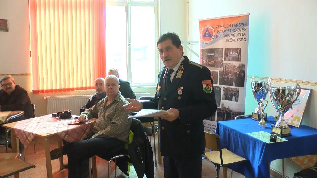 Közgyűlést tartott a Zemplén Térségi Katasztrófa és Polgári Védelmi Szövetség