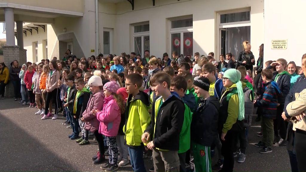 Teremtésvédelem hete az Árpád-házi Szent Margit Általános Iskolában