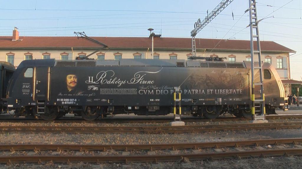 Sátoraljaújhelyen járt a Rákóczi-mozdony