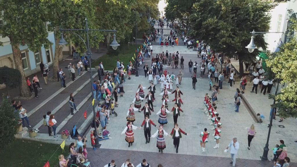 XXIX.  Zemplén Nemzetközi Néptáncfesztivál Sátoraljaújhelyen