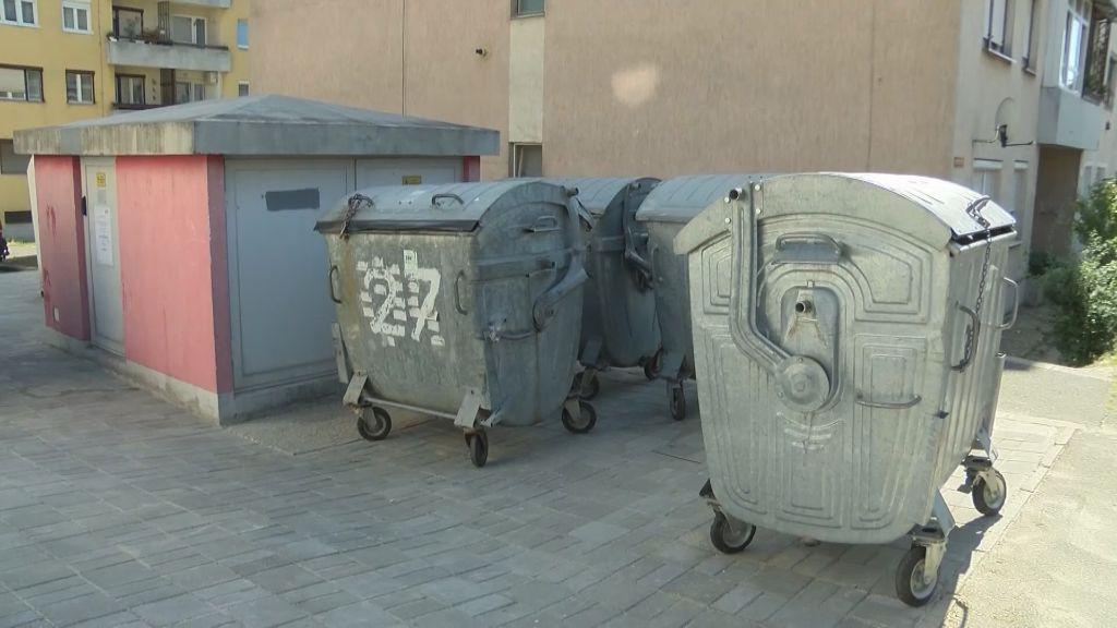 Rendezett hulladékgyűjtő szigetet alakítottak ki a Martinovics lakótelepen