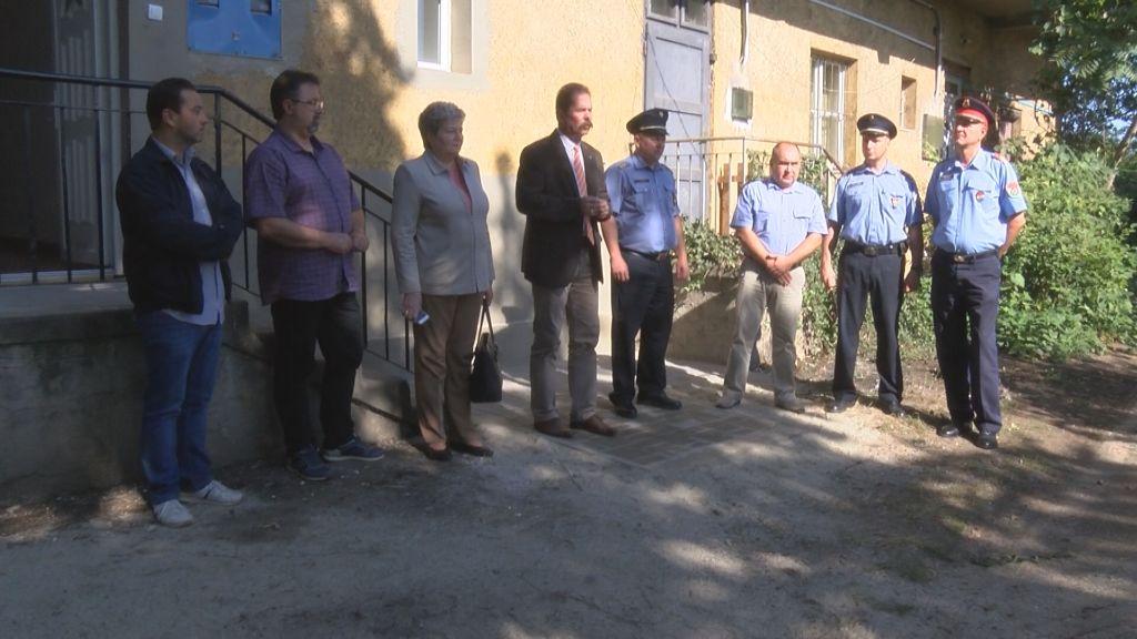 Közbiztonsági pontot alakítottak Sátoraljaújhelyen