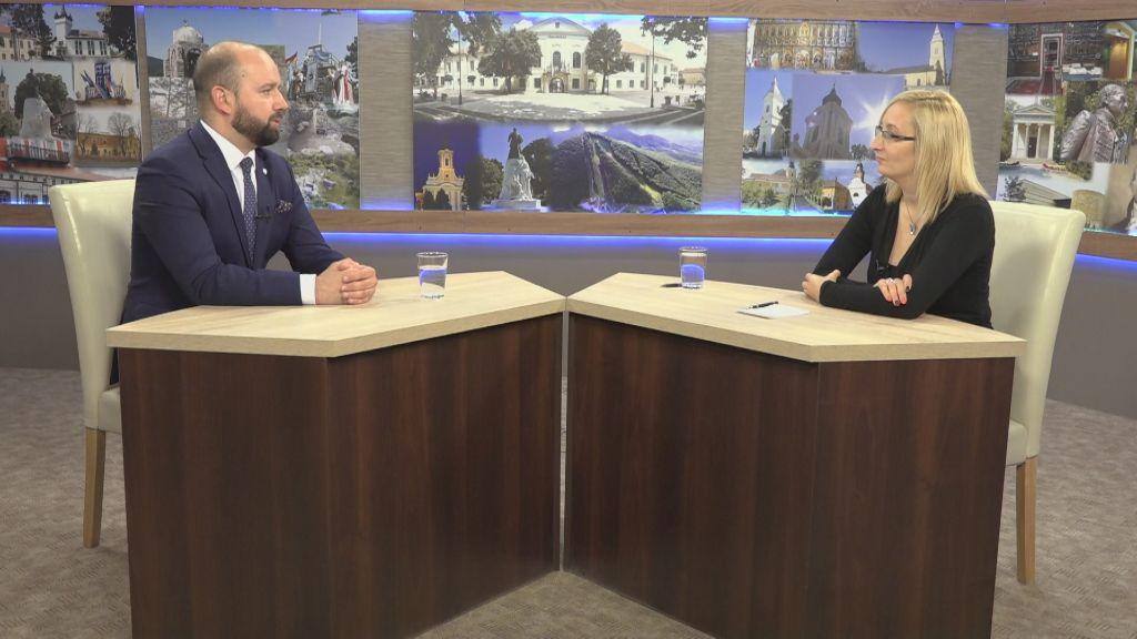 Csehország magyarországi nagykövete volt a Zemplén TV vendége