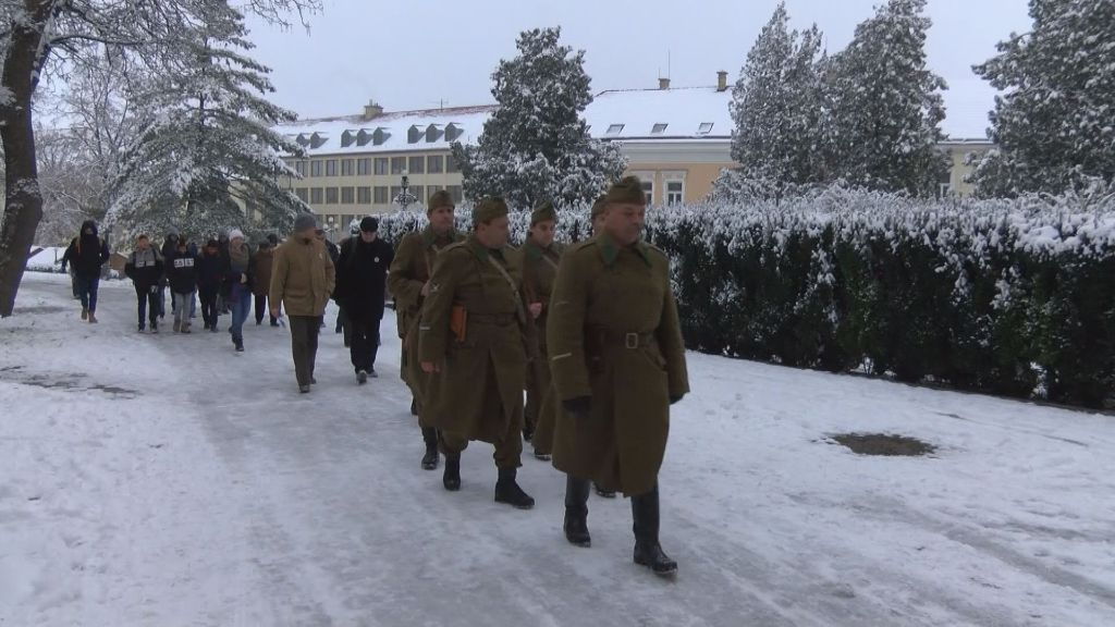 Történelmi emlékséta a II. világháború sátoraljaújhelyi befejezésének 75. évfordulóján
