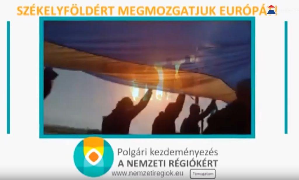 Nemzeti régiók Sátoraljaújhelyen is gyűjtik az aláírásokat a nemzeti régiók jogaiért