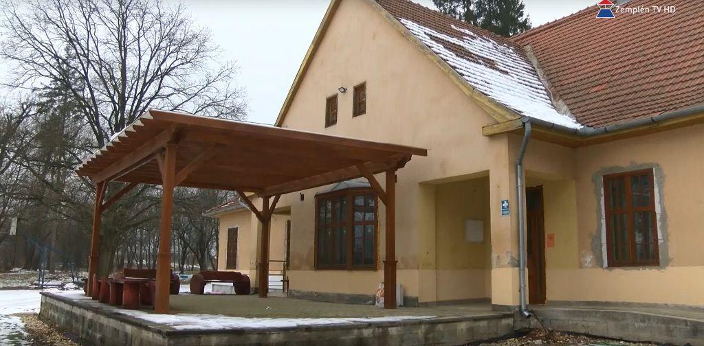 Faluház felújítás Széphalomban
