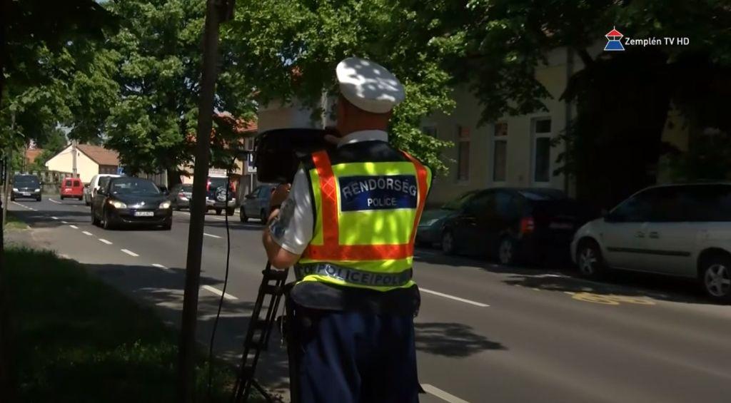 Baleset-megelőzés a Sátoraljaújhelyi Rendőrkapitányságon