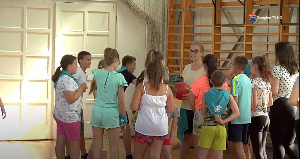 Erzsébet tábor a katolikus általános iskolában