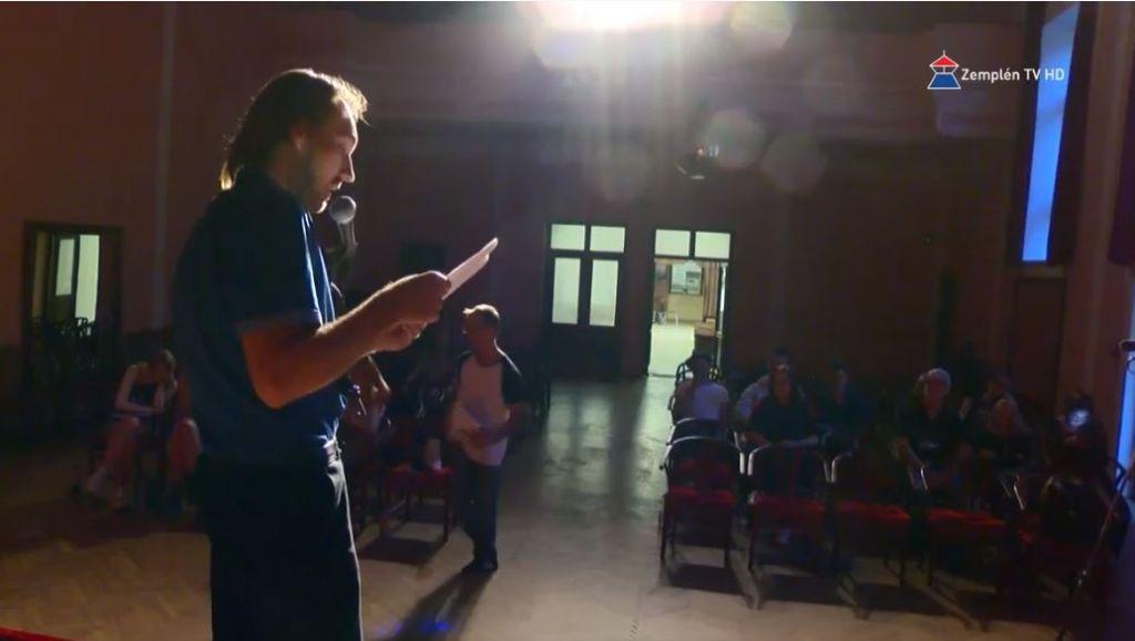 Slam Poetry estet tartottak Sátoraljaújhelyen