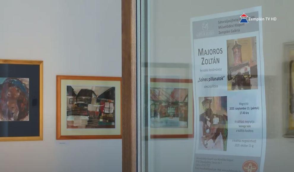 Felvidéki magyar festő kiállítása Sátoraljaújhelyen