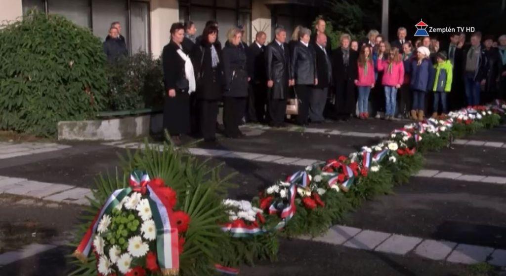 Városi ünnepséget szerveznek október 23-án Sátoraljaújhelyen