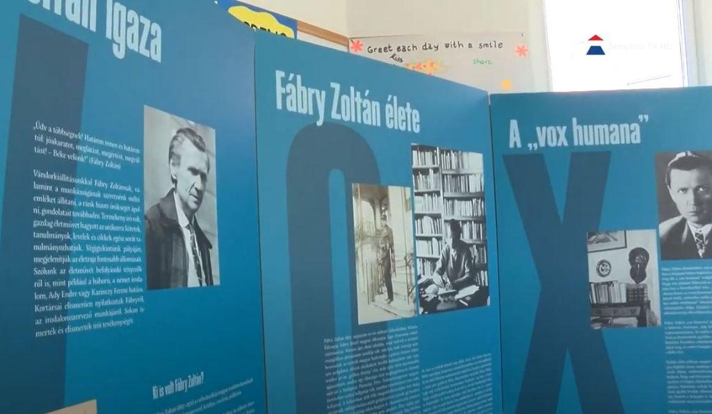Fábry Zoltán kiállítása Sátoraljaújhelyen
