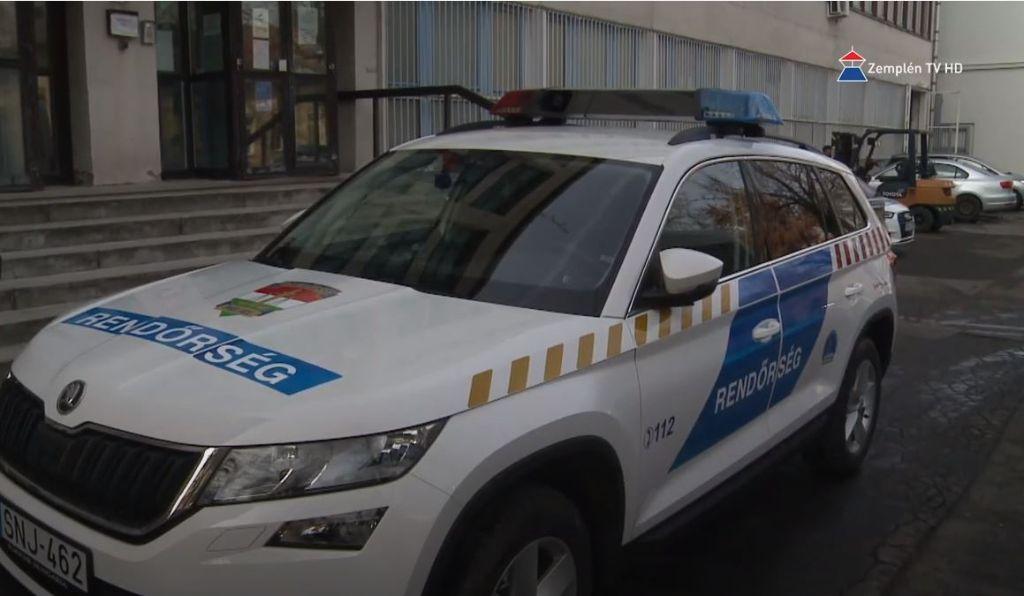 Új járművet kapott a Sátoraljaújhelyi Rendőrkapitányság