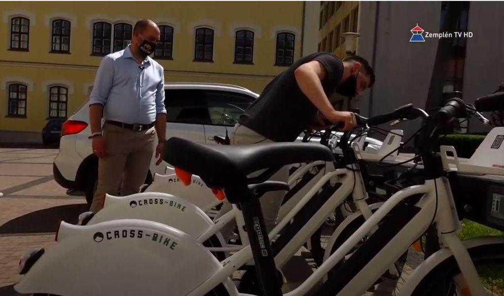 Hamarosan használatba vehetőek az E-bike-ok Sátoraljaújhelyen