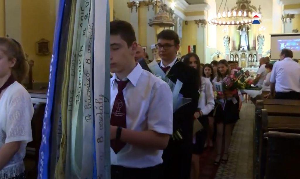 Ballagást tartott az Árpád-házi Szent Margit Általános Iskola