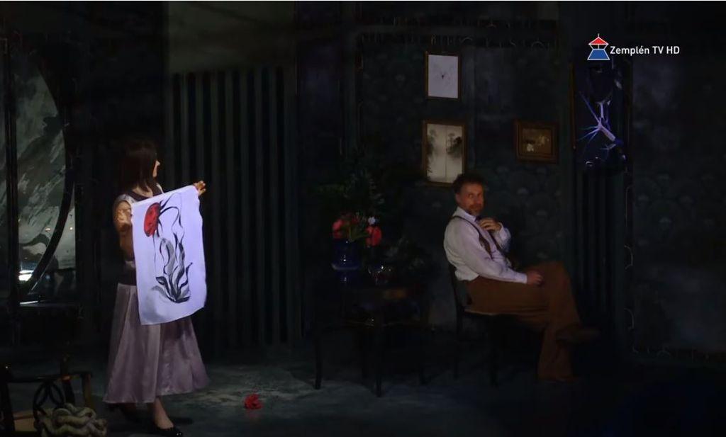 A Déryné Fesztivál keretein belül mutatták be 'A Kék róka' című előadást Sátoraljaújhelyen