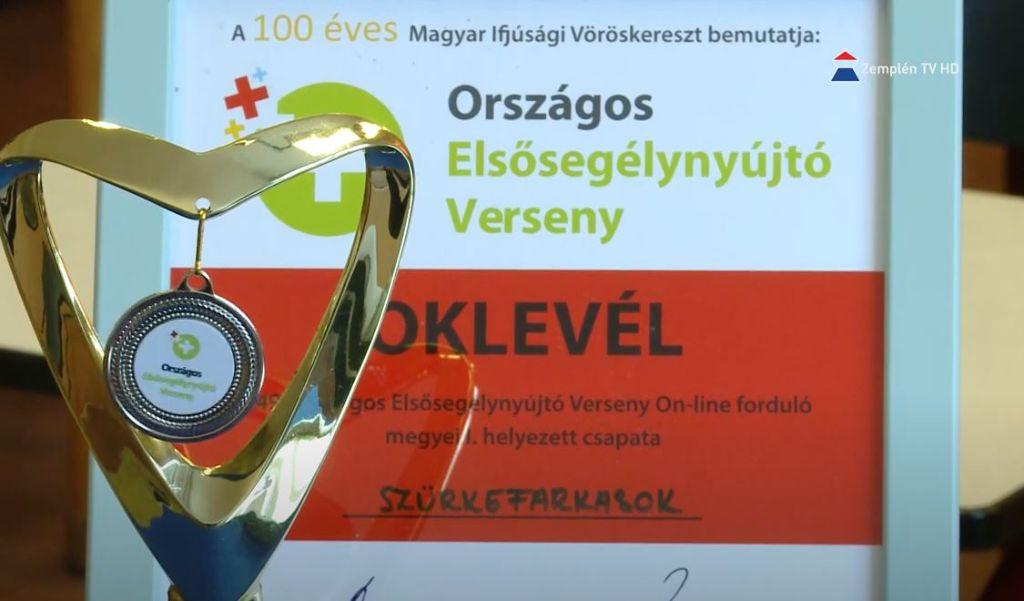 Az Országos Elsősegélynyújtó Versenyen második helyezést ért el a Petőfi Sándor Ref. Ált. Iskola