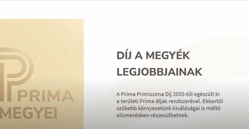 Megyei Prima díjra jelölték Nyiri Pétert